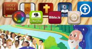 The top 5 Bible apps that bring in the Christmas spirit!
