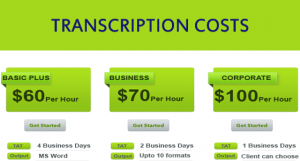 Transcription Cost Determiners 2016