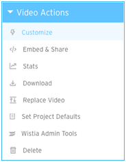 add captions to wistia
