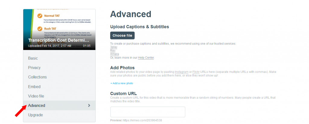 Know how to add captions to your Vimeo videos (In < than 5