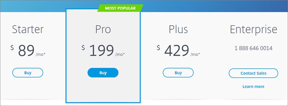 Go to Webinar Pricing